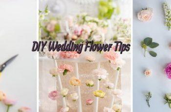 7 Amazing Tips for DIY Wedding Flowers