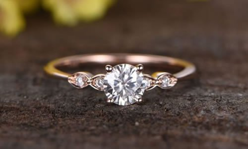 Three Stone Custom Engagement Ring Designs
