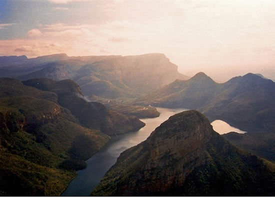 After Fish River, Blyde River Canyon is Africa's largest canyons.