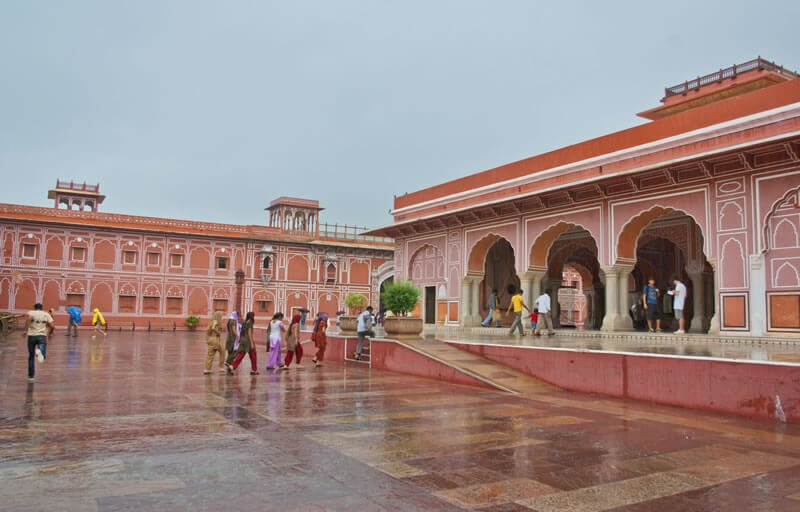 """It is located in """"the Pink City,"""" and boasts many gardens. Honeymoon Destination"""