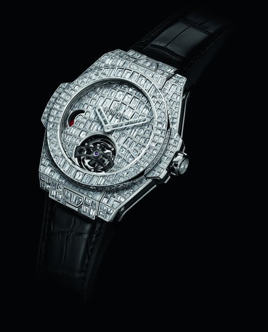 Big Bang Tourbillon Croco High Jewellery