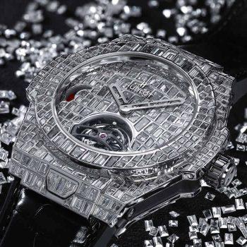 Big Bang Tourbillon Croco High Jewellery