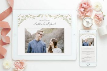 free digital free wedding website with RSVP services you will breath easier.