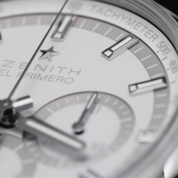 Limited edition Chronomaster El Primero created in collaboration with Collective