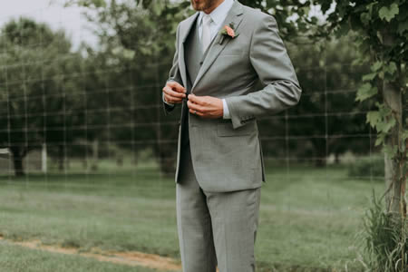 Go for a three-piece suit