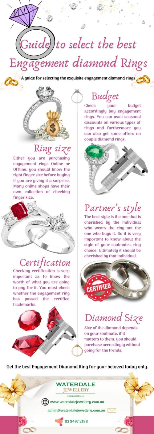 Select an engagement ring band