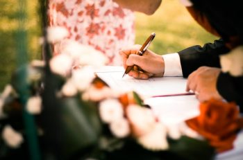What is a wedding vow?